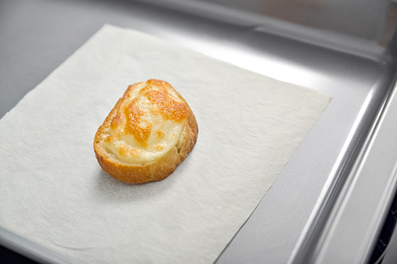 Crema de morcovi baby cu anason si ciabatta gratinata