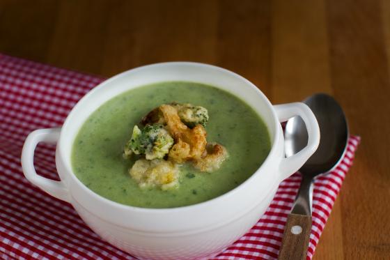 Supa crema de conopida si broccoli