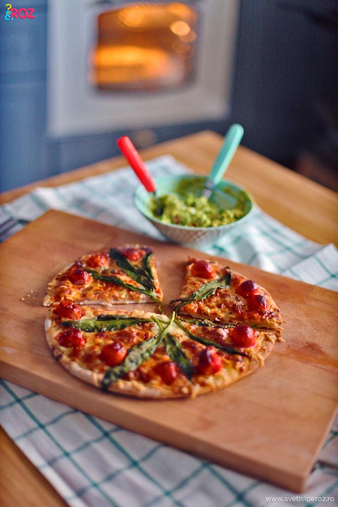Pizza QF cu leurda si avocado (6)