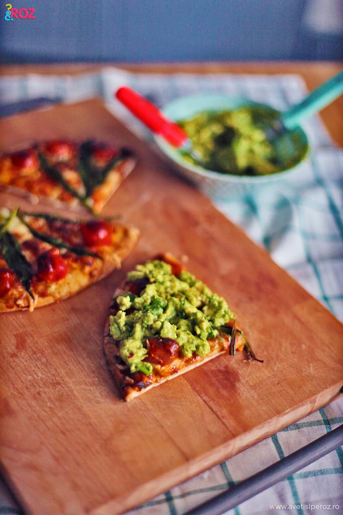Pizza QF cu leurda si avocado (7)
